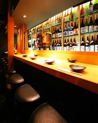厳選した焼酎・梅酒は130種類以上