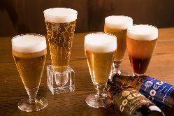 ワイン・日本酒も国産。クラフトビールもご用意しました。