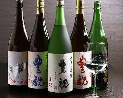 【蔵元直送の地酒】 原酒ならではの芳醇な香りを楽しめます