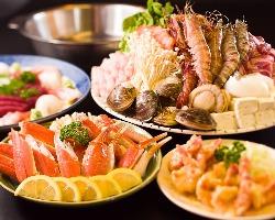 海鮮・お肉たっぷり! 特製なかもと鍋セット