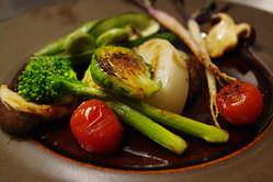 野菜の種類は常時30種以上 野菜ソムリエのこだわり