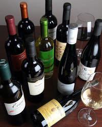 グラスワインは厳選した4~5種類をご用意。