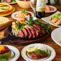 人気の肉メニュー満載!!ガッツリ肉料理を満喫♪