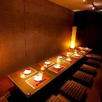 光が織り成す個室空間で宴会 全席個室⇒2〜30名様◎様々なシーンに