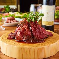 お肉料理が楽しめる食べ放題♪ローストビーフも食べ放題