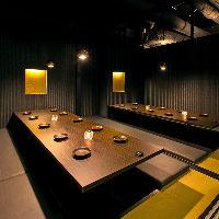 ◆完全個室◆ 2名様~50名様まで対応可能♪夜景個室も完備!!