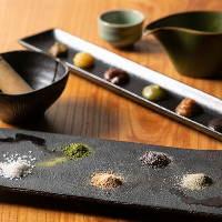 炭火焼との相性を考え抜いた、自家製のお塩と味噌をご用意!