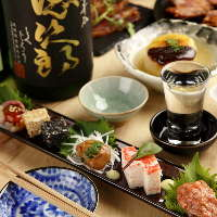 日本酒と相性抜群。漁港直行便で仕入れる日替わり鮮魚。