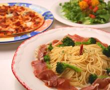◇種類豊富◇ パスタ&ピザ&サラダ
