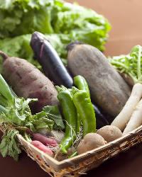 契約農家から頂く野菜☆鉄板で焼くと甘みが増します
