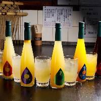 【九州ハイボール】 九州の特産品で造られたフルーツが香る1杯