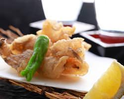 【名物】げんげの唐揚げは1日20食限定 コラーゲンたっぷり♪