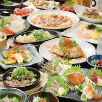 素材にこだわった創作料理も!人気の食べ飲み放題は3,000円~!
