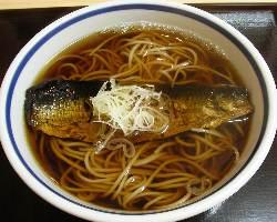 京風味に味付けしたにしんの旨味が甘めの出汁によく合います。