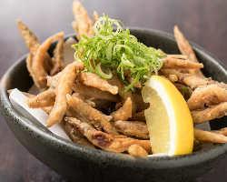 兵庫漁連から直取引で仕入れた魚介は揚げ物にしても美味しい!