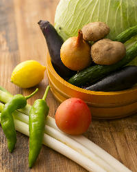 《旬の美味》 野菜も魚も季節ものが多数♪色々な調理法でご提供