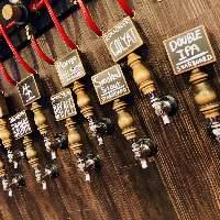 約15種類の樽生ビーをお楽しみいただけます!!