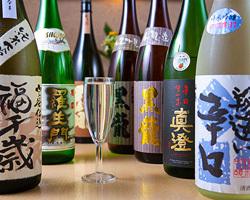 自慢の焼酎から日本酒まで。