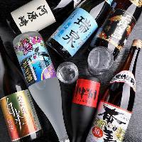 【多彩なドリンク】 とりのすけオリジナル焼酎やゆず酒も人気