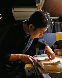 《店主の技》 最高の物を使い、素材を引き出す調理だけを加えて