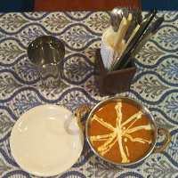 <チキンバターマサラ> バターのコクが効いたチキンカレー!