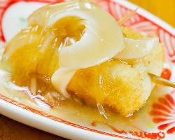 フカヒレと豆腐の中華風自家製豆腐にフカヒレを添えて…