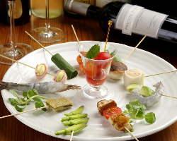 季節や新鮮な食材にこだわりぬいた串揚げ料理をご堪能下さい!
