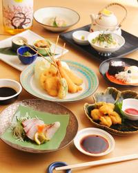 ご予算に応じたコース料理 和洋様々な料理をお楽しみ下さい