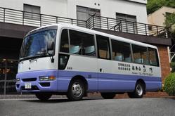 10名様以上から最大81名様の送迎バスもご用意しております☆