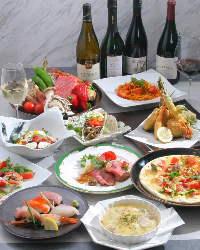 お客様のご要望に合わせたコース料理を提供致します。