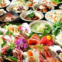 もちろんお造り、お寿司、焼肉も食べ放題で堪能できます