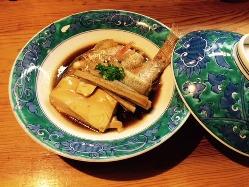 お刺身以外にも、煮付や塩焼きも◎他にも料理を豊富にご用意。