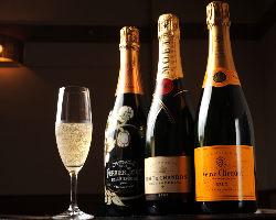 アミノ酸が多いシャンパン 出汁の効いた和食と相性◎