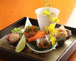 季節を楽しんでいただける 旬の食材を使ったお料理