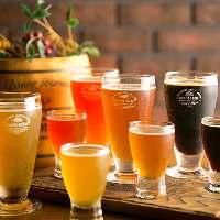 ★クラフト生ビール★常時4種類をご用意しています。