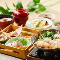 【季節和膳】 季節の喜びが詰まった旬替わりの人気メニュー