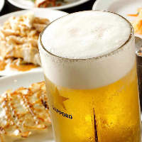 ビールにピッタリのメニューをご用意しております。