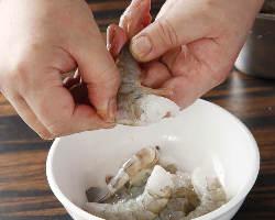 [素材へのこだわり] 食材は国産にこだわり良質で厳選し使用