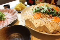 鹿児島黒豚の味噌にんにく鍋