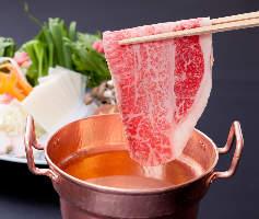 会席料理にも近江牛 プランも多彩に多数ご用意しております