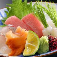 毎日新鮮な鮮魚をご用意しております。
