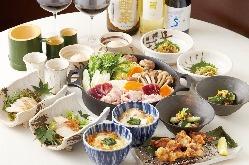 ≪39すき鍋コース≫ 飲み放題付きで驚きの3900円!