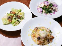 【イタリアン】 厳選食材とシェフのアイディアが織りなす絶品