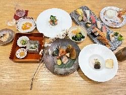 四季折々の逸品・握り寿司・季節のコース 10,000円(税抜)~