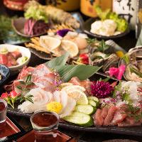 贅沢な海鮮和食プランもご用意!ニーズに合わせてお選びください