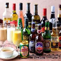インドワインやインドビールなど珍しいお酒も多数ご用意!