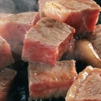 A4等級以上の黒毛和牛ステーキをリーズナブルにご提供!