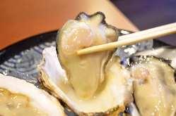 生牡蠣も人気です!!