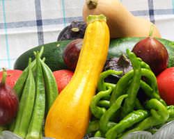 旬のお野菜を使った料理で季節感を感じませんか?
