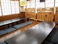 二階席では、15名〜最大23名 様での貸切宴会もOK!